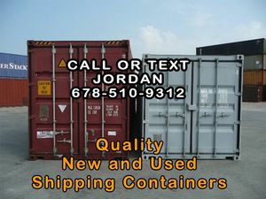 Quality New and Used Shipping Containers - Tons of Uses for Sale in Kennesaw, GA