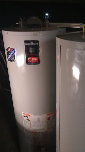 Bradford water heater got two of the same 50 gallon gas 150 for both for Sale in Indianapolis, IN