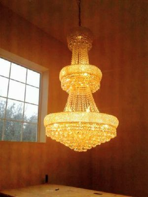 Instalattion of luxury lamps and Chandeliers for Sale in Houston, TX