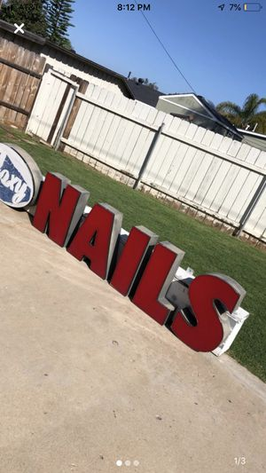 Channel letters. for Sale in El Cajon, CA