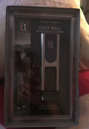 PGA Tour gold ball monogram stamper for Sale in Riviera Beach, FL