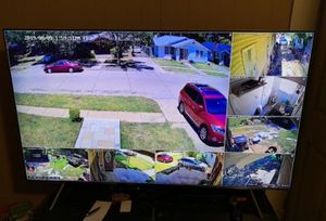 8 x 1080p Security cameras with instalation.. hablo espanol for Sale in Mansfield, TX