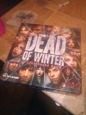 Dead of Winter Board Game -- Played Only Once for Sale in Albuquerque, NM