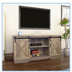 "Forest Series Wooden TV Stand for TVs up to 65"" for Sale in La Mirada, CA"