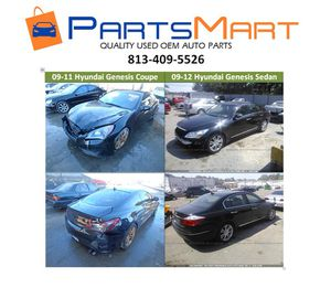 Hyundai Genesis Coupe Sedan Used OEM Parts for Sale for Sale in Tampa, FL