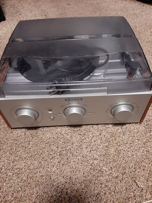 Jensen 33 1/3 and 45 rpm record player needs repair for Sale in Tacoma, WA