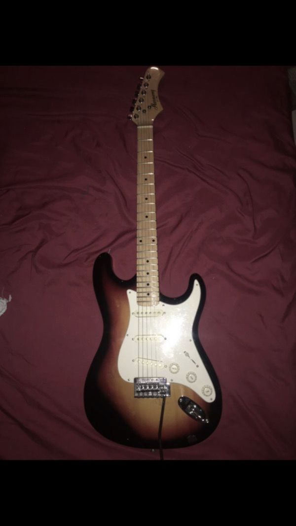 Star caster electric guitar