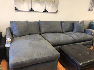 Brand New Grey Sectional for Sale in Virginia Beach, VA