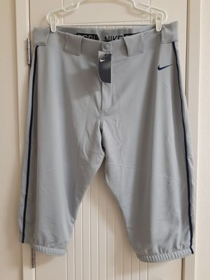 Nike Mens Vapor Pro Piped High Knicker Baseball Pants Wolf Grey for Sale in San Diego, CA