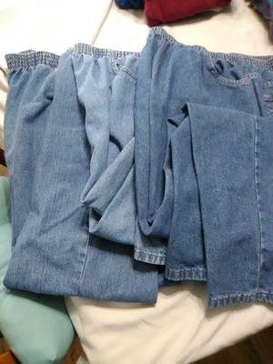 Women's jeans with elastic waist for Sale in Hemet, CA