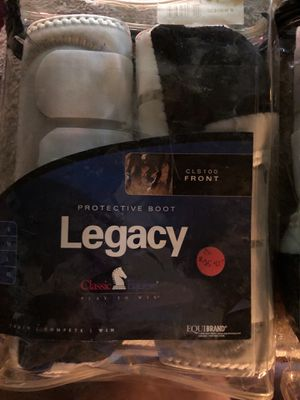 Legacy boots for horse fronts and hinds brand new never used for Sale in Escalon, CA