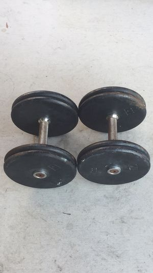 40lb Weight Pro-Style Dumbbells Pair for Sale in Las Vegas, NV