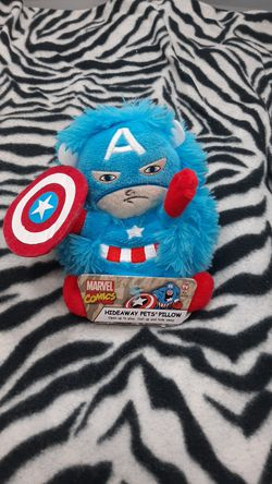 Captain America marvel comics hideaway pets pillow for Sale in Modesto,  CA