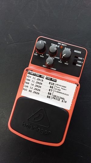 Foot pedal for Sale in Amarillo, TX