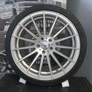 19 Inch Used Asanti Black Label Wheels w/ 275/30ZR19 Cosmo Muchomacho Tires for Sale in Miami, FL