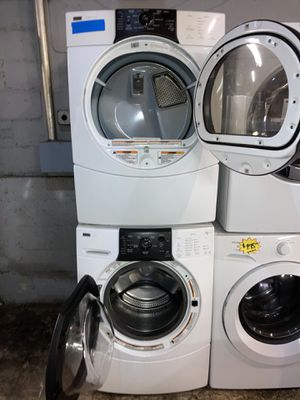 Kenmore front load washer & electric dryer set in excellent conditions with 4 months warranty for Sale in Baltimore, MD