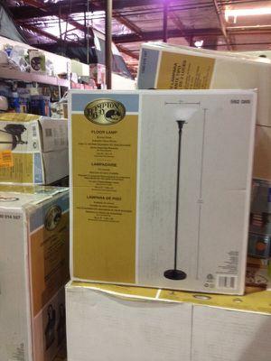 "Hampton Bay floor lamp 72"" x 13"" bronze finish for Sale in Phoenix, AZ"