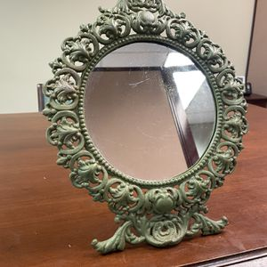 vintage cast iron mirror. for Sale in Southold, NY