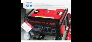 NEW Predator 4000 Watt Generator 6.5 HP (212cc) for Sale in Vallejo, CA