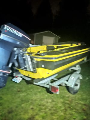 1965 Glaston Classic Boat with Evinrude Outboard Motor and EZ Loader Trailer for Sale in Camano, WA
