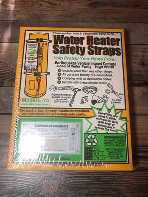 Water heater straps for Sale in Fresno, CA
