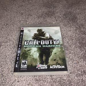 Call of Duty 4 Modern Warfare PS3 game for Sale in DeKalb, IL