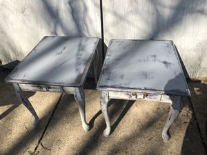 Blu/Gray End Tables for Sale in Baltimore, MD
