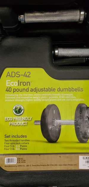 Dumbbell set for Sale in South Gate, CA