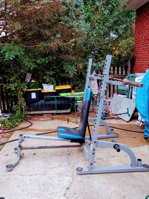 Nautilus Squat Rack / Bench