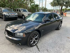 2010 Dodge Charger MINT red stitching. BEAUTIFUL RIMS for Sale in Miami, FL