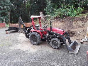2005 Jinma 284 4x4 tractor, loader, backhoe for Sale in Renton, WA