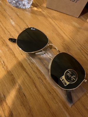 Gold Hexagonal Raybans for Sale in Burbank, CA