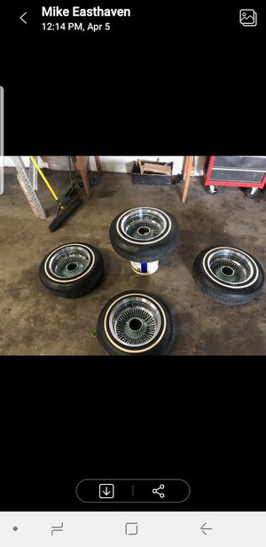 13inch wire wheels for Sale in Houston, TX