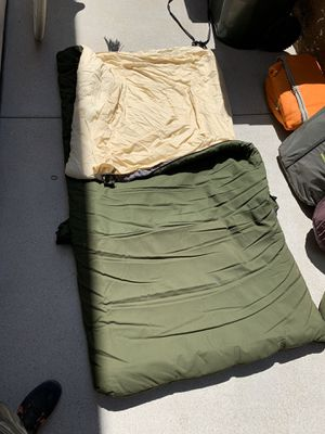 1 Large Camping Sleeping Bag for Sale in Yorba Linda, CA