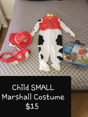 Marshall Costume CHILD SMALL for Sale in Streetsboro, OH
