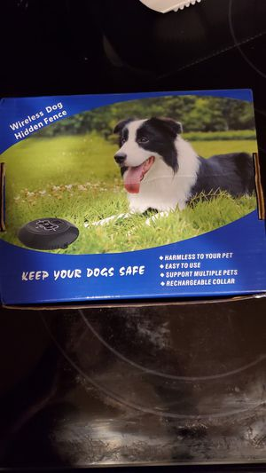Electric wireless dog fence for Sale in Normal, IL