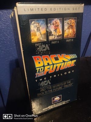 Back to future vhs for Sale in Lakewood, CA