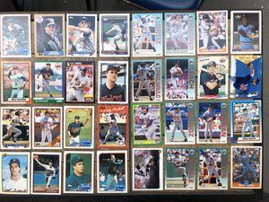 Minnesota Twins 128 Baseball Card Lot / Packs Cards / Kirby Puckett Davis Neagle Cordova Carew Rodriguez Lawton Viola / Rookies Topps for Sale in Tampa, FL