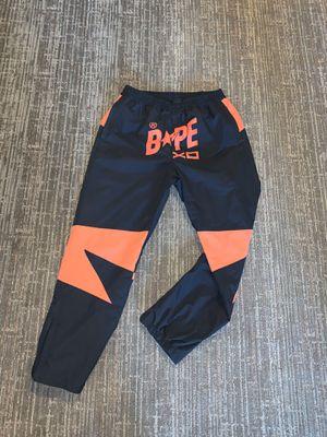 Bape x XO bapesta pants size L for Sale in Atlanta, GA
