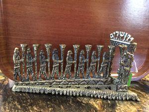 Vintage Israeli Brass Menorah for Sale in Charlton, MA