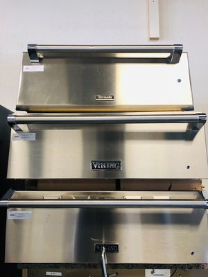 STAINLESS STEEL WARMING DRAWER VIKING & THERMADOR//FREE DELIVERY for Sale in Phoenix, AZ