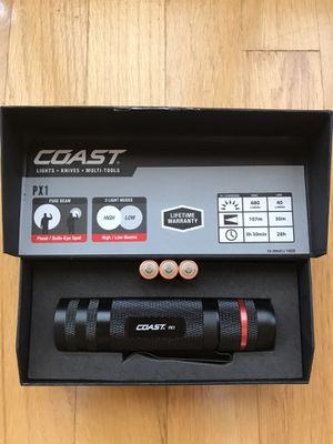 Coast PX1 Flashlight, New Never Used. $25 FIRM for Sale in Queens, NY