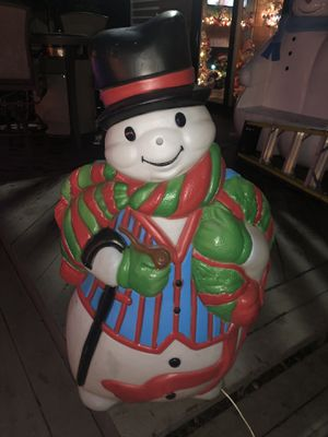 Christmas Blow Mold snowman for Sale in Woodridge, IL