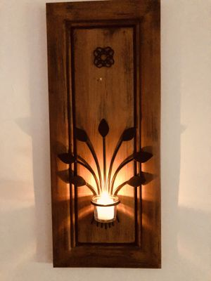 Wooden Wall Candle Holder for Sale in Los Angeles, CA