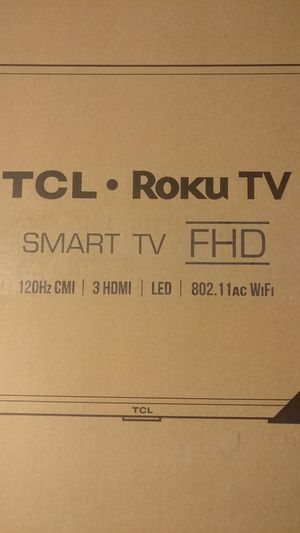 "TCL Roku Smart TV 32"" 32S327 for Sale in Norco, CA"