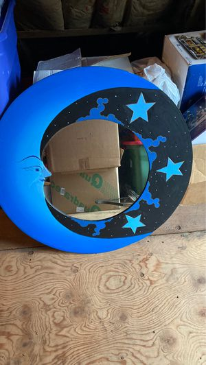 Moon mirror for Sale in Norwich, CT