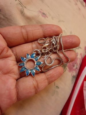 Silver necklace for Sale in Irving, TX