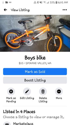 Boys bike for Sale in Spokane, WA