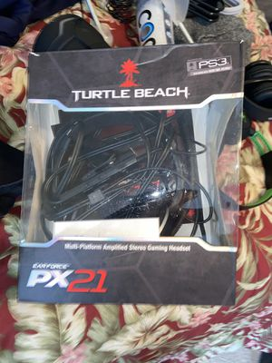 PS3 turtle beach headset for Sale in Hyattsville, MD