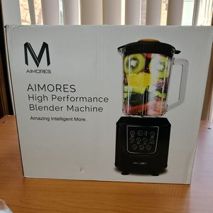 NEW Aimores Pre Programmed LED Display Blender High Perfomance Machine for Smoothies AS-UP1250 Sealed Box for Sale in Willowbrook, IL